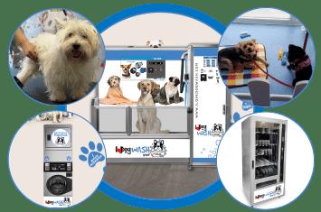 I Love Dog Wash es un negocio multiservicios
